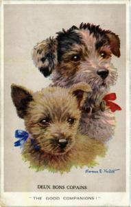 CPA Deux bons Copains DOGS (745817)