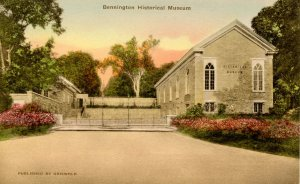 VT - Bennington. Historical Museum