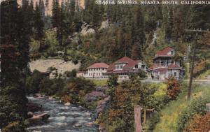 Shasta Springs, SHASTA ROUTE, California, 00-10's