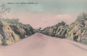 Jefferson Lane , IBERIA Parish , Louisiana , 1909