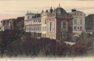 SAINT-GERMAIN-EN-LAYE, Le Pavillon Henri-IV pris de l'Ascenseur, Ile-de-Franc...