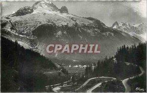 Old Postcard ARGENTIERES- (Ht Savoie) The laces of the Col des Montets