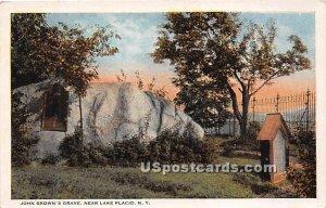 John Brown's Grave - Lake Placid, New York