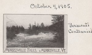 MORRISVILLE , Vermont , 00-10s ; Morrisville Falls