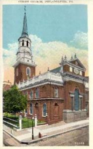 Christ Church Philadelphia PA Unused