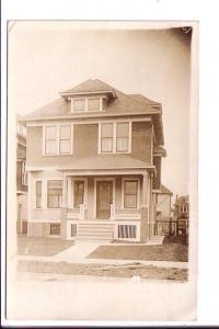 Real Photo, 169 Beresford Ave, Used Detroit, Michigan 1913