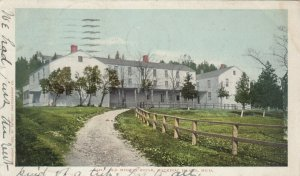 MACKINAC ISLAND , Michigan , PU-1905 ; Old Mission House
