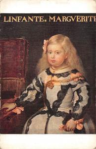 Velasquez Portrait de l'Infante Marie-Marguerite Musee du Louvre Ecole Espagnole