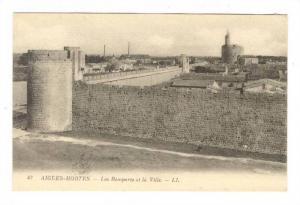 Les Remparts Et La Ville, Aigues-Mortes (Gard), France, 1900-1910s