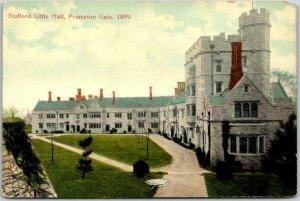 PRINCETON UNIVERSITY New Jersey Postcard Stafford Little Hall Campus c1910s
