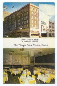 Pre-zip Code of Temple Square Hotel Salt Lake City Utah UT