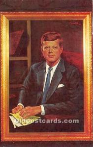John F Kennedy Postcard President John F Kennedy Postcard Artist Morris Katz