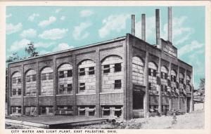 EAST PALESTINE , Ohio , 10-30s ; City Water & Light Plant