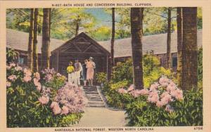 North Carolina Asheville Bath House And Concession Building