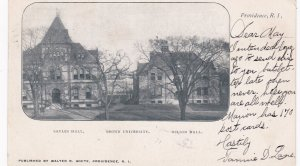 PROVIDENCE , Rhode Island , 1906; Brown University, Salves & Wilson Halls