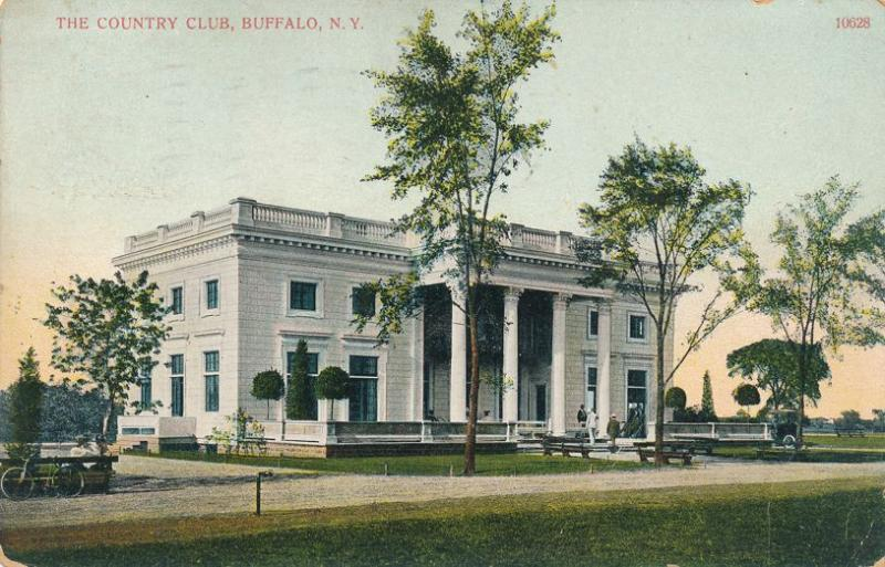 The Country Club at Buffalo NY, New York - pm 1911 - DB