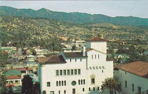 Broad Vista Of City As Seen From Tower Of County Courthouse, Santa Barbara, C...