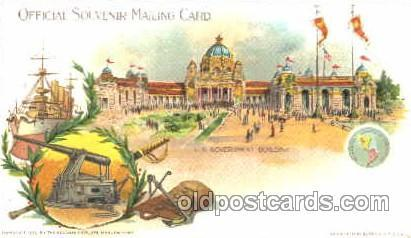 Pan American Exposition, Buffalo New York, NY 1901 Worlds Fair, Postcard Post...