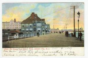 The Casino and Board Walk, Atlantic City, New Jersey,PU-1907
