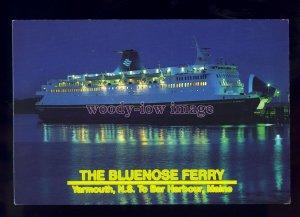 FE2279 - Canadian Ferry - Bluenose , built 1973 ex Stena Jutlandica - postcard