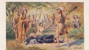 Pocahontas saving the Life of John Smith , 00-10s