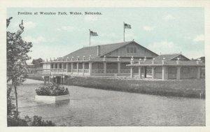 WAHOO , Nebraska , 1900-10s ;  Pavilion at Wanahoo Park