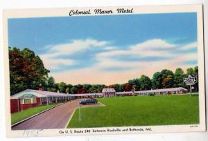 Colonial Manor Motel, Rockville - Bethesada MD