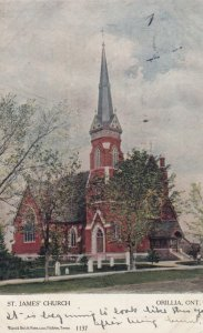 ORILLIA , Ontario , Canada , 1905 ; St Jame's Church