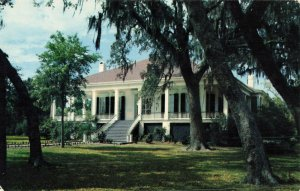 Postcard Beauvoir Jefferson Davis Shrine