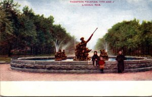 Nebraska Lincoln Thompson Fountain