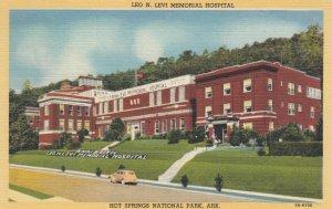 HOT SPRINGS National Park, Arkansas, 1930-40s ; Leo N. Levi Memorial Hospital