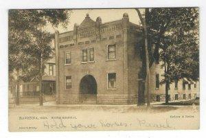 1901-1907 Ravenna, Ohio White Hospital TUCK UDB Postcard