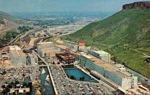 Colorado Golden Coors Brewery Aerial View