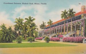 Florida Miami Hialeah Park Grandstand Entrance