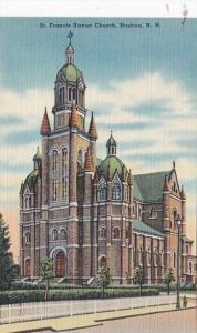 New Hampshire Nashua St Francis Xavier Church