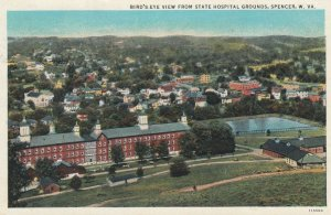 SPENCER , West Virginia , 1910s ; Bird's Eye View