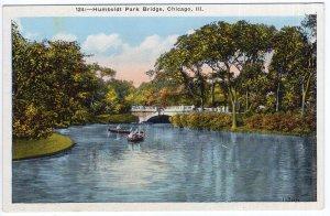 Chicago, Ill, Humboldt Park Bridge