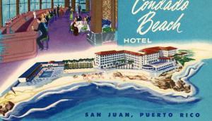 Puerto Rico, San Juan, Condado Beach Hotel
