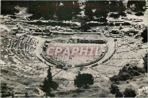 Postcard Modern Athens The Theater of Dionysos
