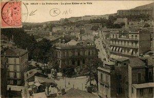 CPA AK Oran La Préfecture, La Place Kléber ALGERIE (748920)