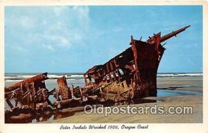 Peter Iredale Wrecked 1906 Oregon Coast Ship Postcard Post Card Oregon Coast ...