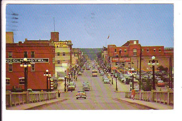 Main St, Prince Albert, Saskatchewan, Used Locally 1966