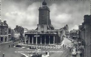 United Kingdom, UK, England, Great Britain All Saints Church & Town Centre No...