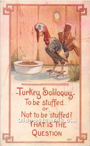 Thanksgiving Old Vintage Antique Postcard Post Card 1912
