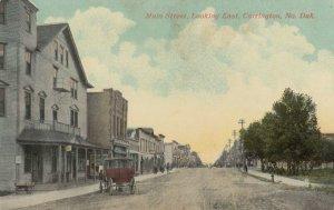 CARRINGTON , North Dakota , 1900-10s ; Main Street