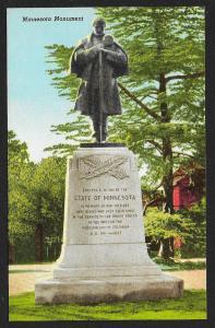 Minnesota Monument Americus Georgia Unused c1955