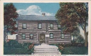 Ohio Dayton Old Newcom Tavern First House In Dayton Built 1796