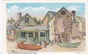 Massachusetts Marblehead Old Lobster Huts Curteich