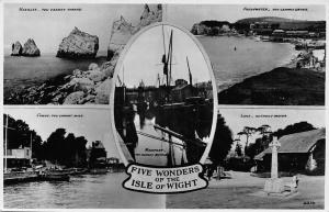 Five Wonders of the Isle of Wight Newport, Lake without Water, Freshwater Cowes