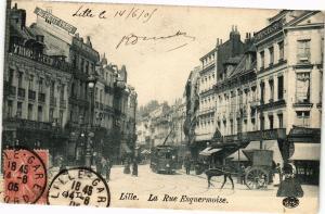CPA LILLE - La Rue Esquermoise (203987)